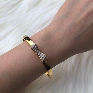 🎉SALE🎉 kate spade gold pave crystals bangle